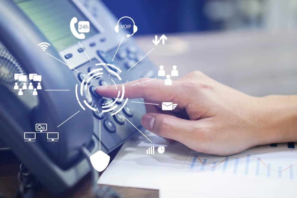 virtual landline service with prestige